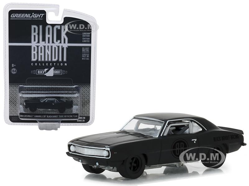 1969_Chevrolet_Camaro_Z28_Black_Bandit_Trans_Am_Racing_Team_Black_Bandit_Series_20_164_Diecast_Model_Car_by_Greenlight
