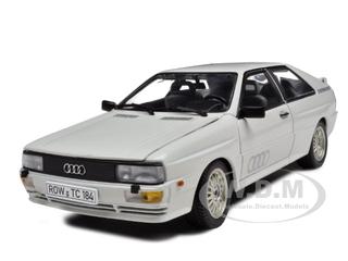 1981 Audi Quattro White 1/18 Diecast Model