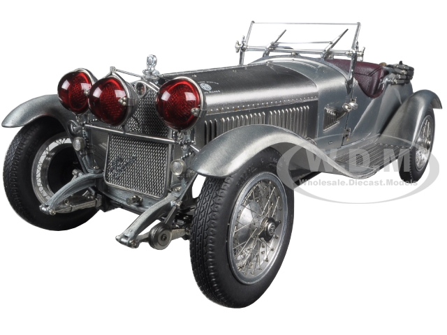 1930 Alfa Romeo 6c 1750 Grand Sport Clear Finish Limited Edition To 1000pcs 1/18 Diecast Model Car By Cmc