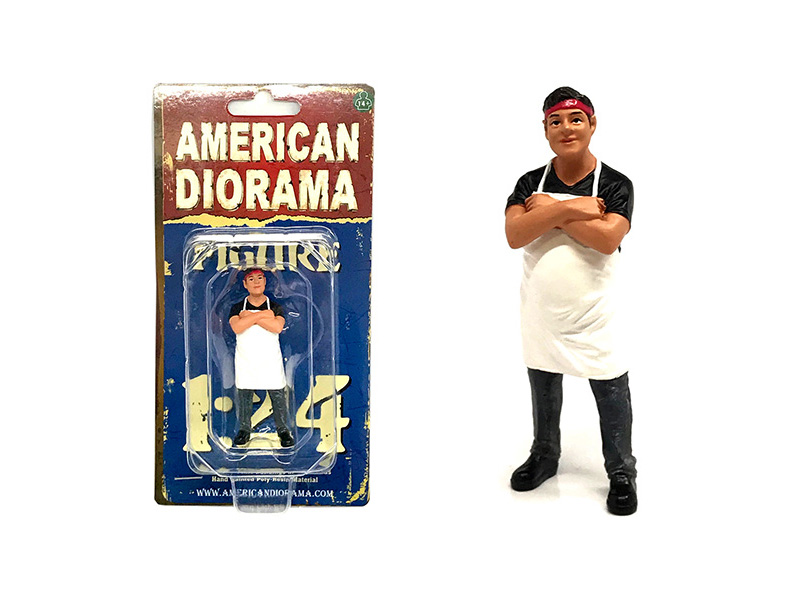 Food_Truck_Chef_Victor_Figure_for_124_Scale_Models_by_American_Diorama