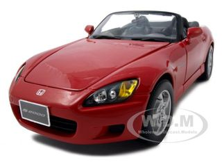 Honda S2000 Red 1/18 Diecast Model Car by Maisto