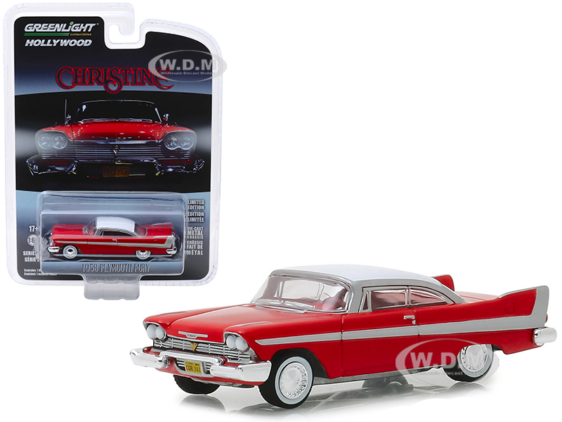 1958 Plymouth Fury Red with White Top Christine 1983 Movie Hollywood Series Release 23 164 Diecast Model Car by Greenlight - 3c39ff6e8cfa598 , 1958-Plymouth-Fury-Red-with-White-Top-Christine-1983-Movie-Hollywood-Series-Release-23-164-Diecast-Model-Car-by-Greenlight-13703981 , 1958 Plymouth Fury Red with White Top Christine 1983 Movie Hollywood Series Release 23 164 Diecast Mode