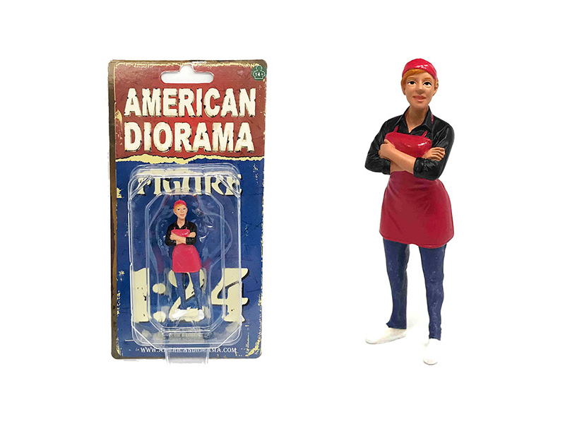 Food_Truck_Chef_Gloria_Figure_for_124_Scale_Models_by_American_Diorama