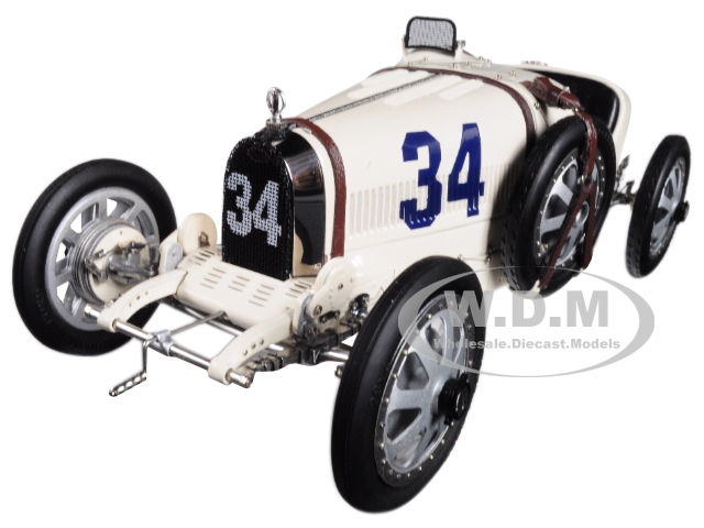 Bugatti T35 #34 National Color Project Grand Prix Usa Limited Edition To 500 Pieces Worldwide 1/18 Diecast Model Car By Cmc