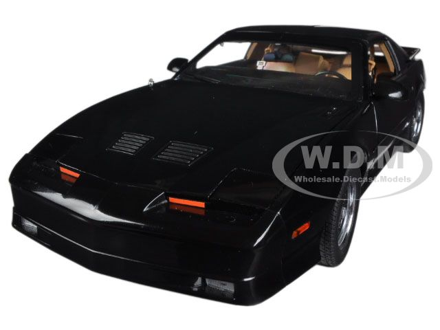 1989 Pontiac Firebird Trans Am GTA Black Limited to 600pc 1/18 Diecast Car Model by Greenlight GL12922