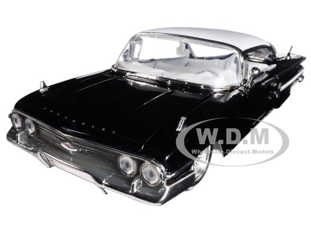 1960_Chevrolet_Impala_Black_Lowrider_Series_Street_Low_124_Diecast_Model_Car_by_Jada