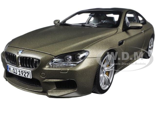 BMW M6 F13M Coupe Frozen Bronze 1/18 Diecast Model Car by Paragon (97053) photo