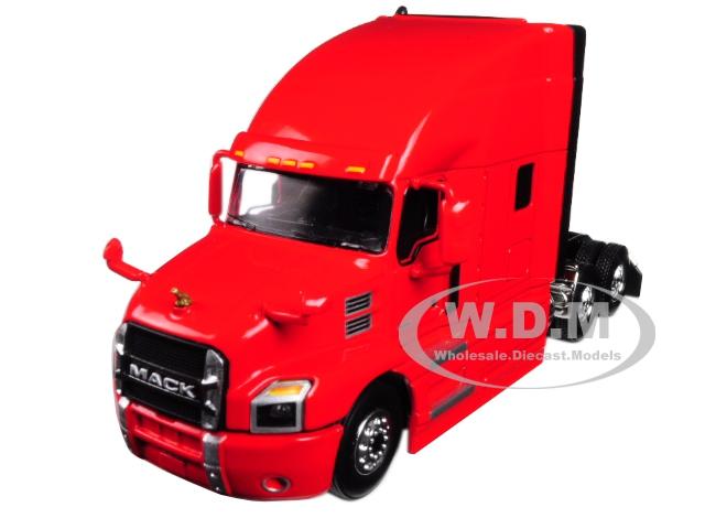 Mack Anthem Sleeper Cab Crossroads Red 1/64 Diecast Model by First Gear