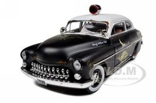 1949 Mercury Coupe Rat Rod Police 20th Anniversary of American Muscle Edition Limited Edition 1 of 700 Produced Worldwide 1/18 Diecast Model Car by Autoworld