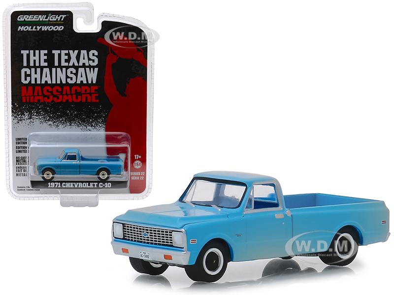 1971 Chevrolet C-10 Pickup Truck Blue (Dusty)