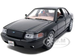 Discount Automotive Parts Online 2007 Ford Crown Victoria Undercover Police Car Black 1/24 Diecast Model Car by Motormax