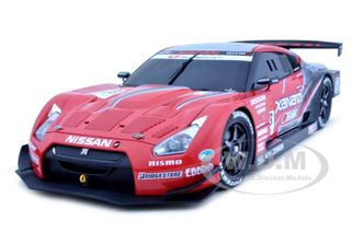 Nissan GT-R Super GT 2008 3 Launch Version 1/18 Diecast Car Model by Autoart