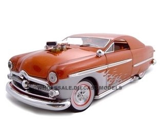 1949 Ford With 480 Blower Bronze 1/24 Diecast Car by Unique Replicas 18591