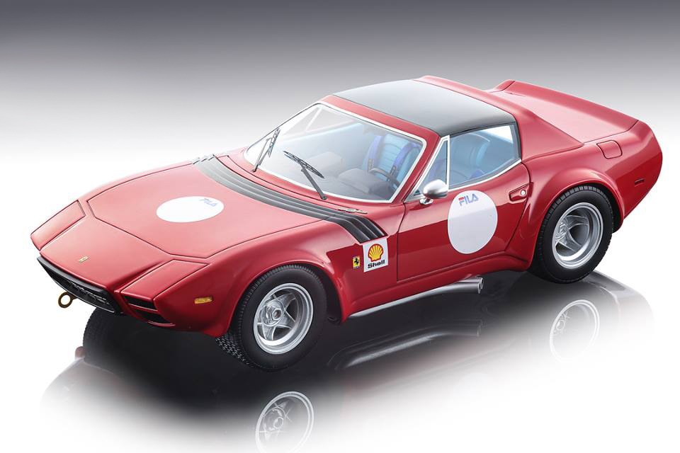 Ferrari_365_GTB4_Michelotti_Shell_Press_Version_Red_with_Black_Roof_1975_Team_NART_Mythos_Series_Limited_Edition_to_150_pieces_Worldwide_118_Mode