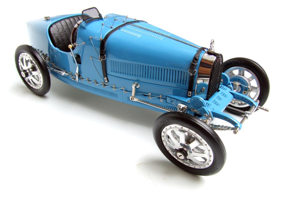1924_Bugatti_T35_Type_35_Blue_118_Diecast_Model_Car_by_CMC