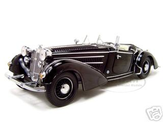1939 Horch 855 Roadster Black 1/18 Diecast