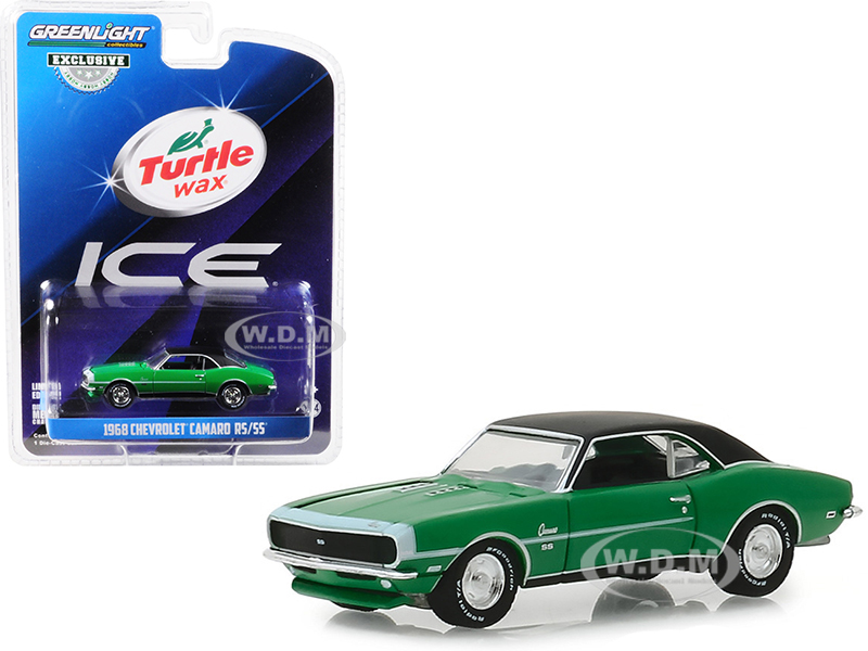1968 Chevrolet Camaro RSSS Green with Black Top Turtle Wax Ice Lasting Diamond Brilliance Turtle Wax Ad Cars Hobby Exclusive 164 Diecast Mode - 5d7612d2ee5831c , 1968-Chevrolet-Camaro-RSSS-Green-with-Black-Top-Turtle-Wax-Ice-Lasting-Diamond-Brilliance-Turtle-Wax-Ad-Cars-Hobby-Exclusive-164-Diecast-Mode-13703981 , 1968 Chevrolet Camaro RSSS Green with Black Top Turtle Wax Ice Lasting Diamond Brill