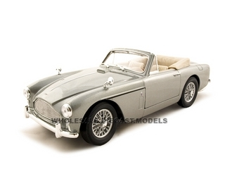 1958 Aston Martin DB2-4 Mark III Grey 1/18 Diecast Car Model by Road Signature