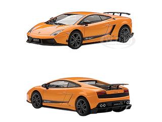 Lamborghini Gallardo LP570-4 Superleggera Metallic Orange/Arancio Borealis 1/43 Diecast Car Model by Autoart