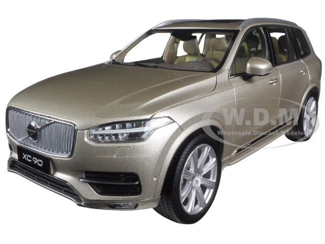 2015 2016 Volvo XC90 Luminous Metallic Sand 1/18 Diecast Model Car by Ultimate Diecast
