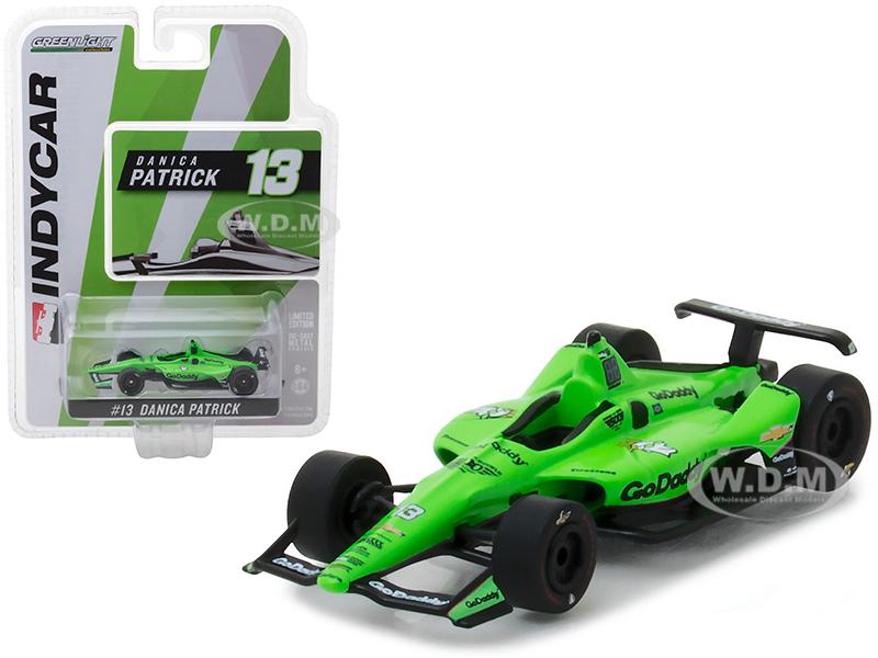 2018_IndyCar_13_Danica_Patrick_Go_Daddy_Ed_Carpenter_Racing_164_Diecast_Model_Car_by_Greenlight