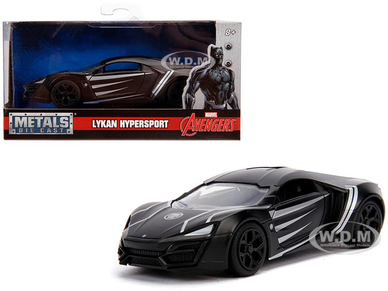 Lykan_Hypersport_Black_Panther_Theme_Marvel_Series_132_Diecast_Model_Car_by_Jada