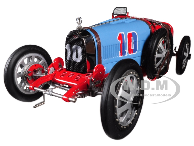 Bugatti T35 #10 National Colour Project Grand Prix Chile Limited Edition To 300 Pieces Worldwide 1/18 Diecast Model Car By Cmc