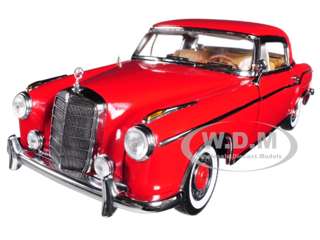 1958 Mercedes 220SE 220 SE Coupe Red