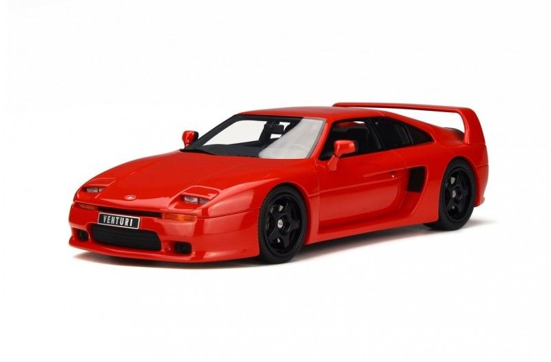 Venturi 400 GT Phase 2 Red Limited Edition to 1000pcs 1/18 Model Car by Otto Mobile OT663