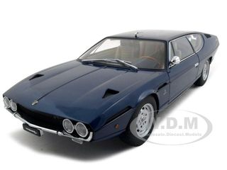 Lamborghini Espada Blue 1/18 Diecast Model Car by Autoart
