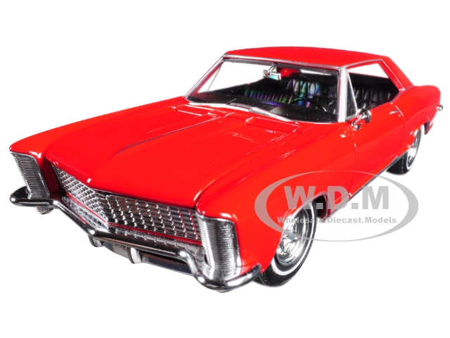 1965 Buick Riviera Gran Sport Red 1|24 – 1|27 Diecast Model Car by Welly