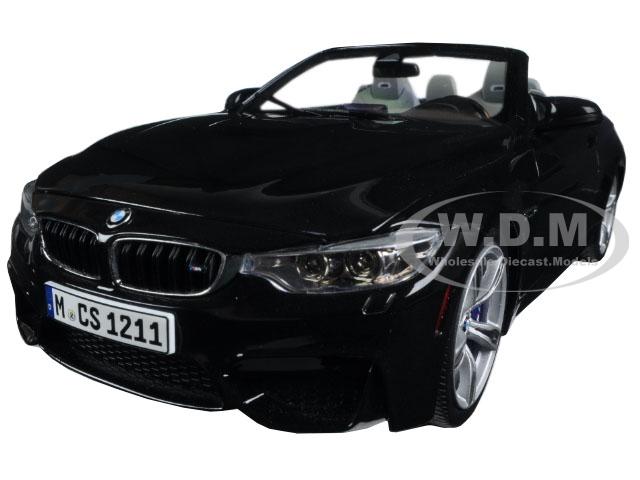 BMW M4 Cabrio Black 1/18 Diecast Model Car by Paragon (97112) photo