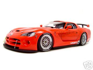 Dodge Viper Competition Car 2004 Plain Body Version Red 1 Of 3000 Made 1/18 Diecast Model Car