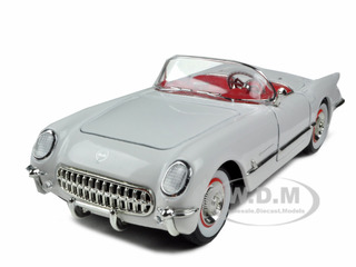 1953 Chevrolet Corvette White 1/32 Diecast Model Car by Signature Models