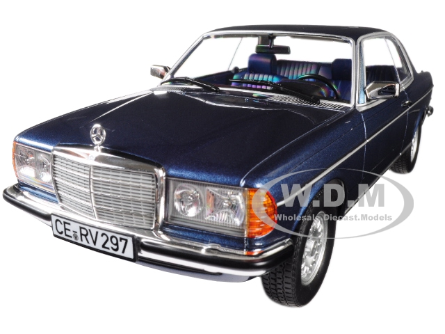 1980_Mercedes_Benz_280_CE_Coupe_Blue_Metallic_118_Diecast_Model_Car_by_Norev