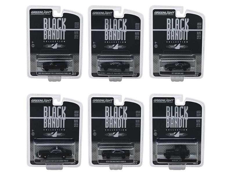 Black_Bandit_Series_20_Set_of_6_Cars_164_Diecast_Models_by_Greenlight