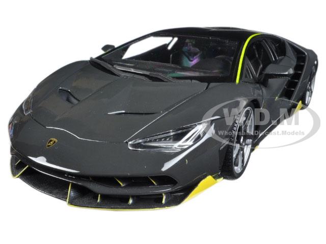 Lamborghini Centenario Grey 1/18 Diecast Model Car by Maisto