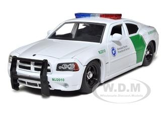 2006 Dodge Charger R/T Border Patrol Car 1/24 Diecast Model by Jada