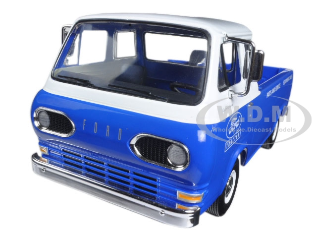 1960s Ford Econoline Pickup Blue with Boxes