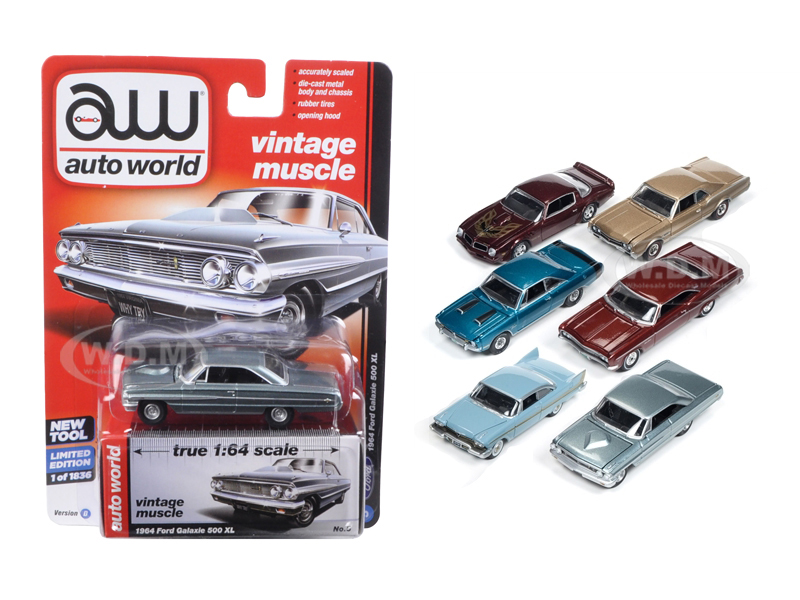 Autoworld Muscle Cars Release 5D Premium Licensed