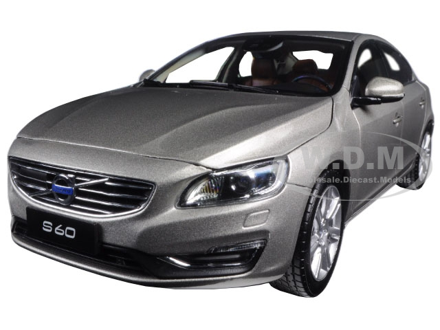2015 Volvo S60 Seashell Metallic 1/18 Diecast Model Car by Ultimate Diecast
