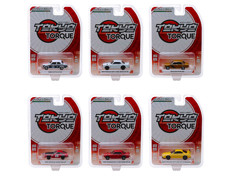Tokyo_Torque_Series_4_Set_of_6_Cars_164_Diecast_Models_by_Greenlight
