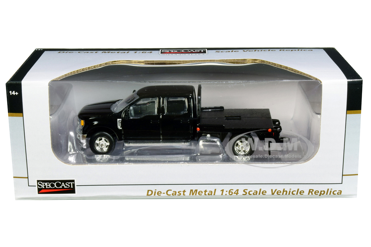 Ford_F250_Truck_with_Flatbed_Black_164_Diecast_Model_Car_by_SpecCast