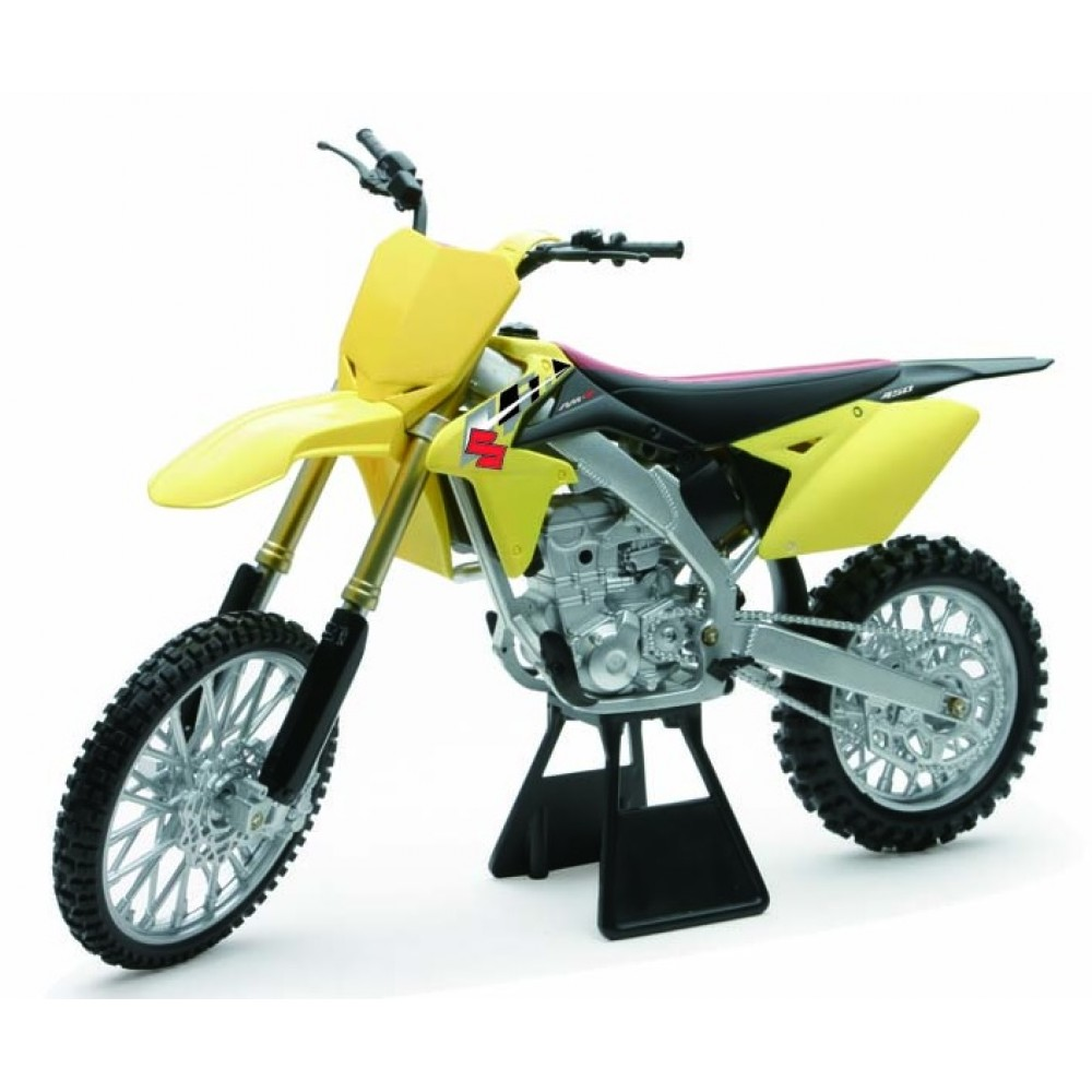 2014 Suzuki RM-Z450 Bike Motorcycle 1/6 Model by New Ray NR49473