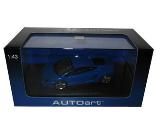 Lamborghini Gallardo LP560-4 Blue 1/43 Diecast Model Car by Autoart