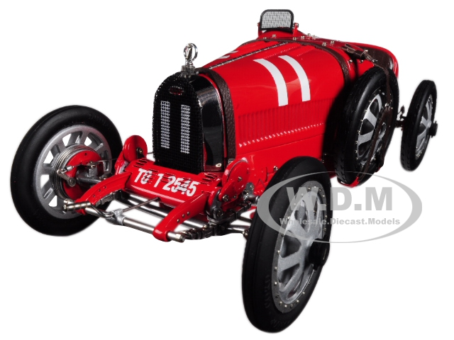 Bugatti T35 #11 National Color Project Grand Prix Italy Limited Edition To 800 Pieces Worldwide 1/18 Diecast Model Car By Cmc