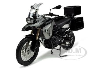 BMW F800 GS Motor Bike Silver / Black 1/10 Diecast Model by Autoart