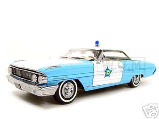 1964_Ford_Galaxie_500_Xl_Police_Blue_118_Diecast_Model_Car_by_Sunstar