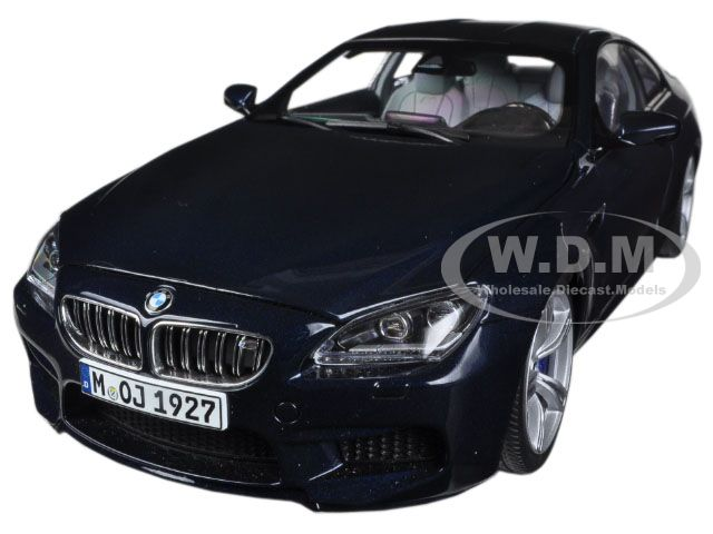 BMW M6 F13M Coupe Imperial Blue 1/18 Diecast Car Model by Paragon (97052) photo