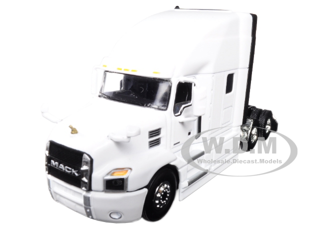 """""""Mack Anthem Sleeper Cab White 1/64 Diecast Model by First Gear Photo - Gifts For Boys"""